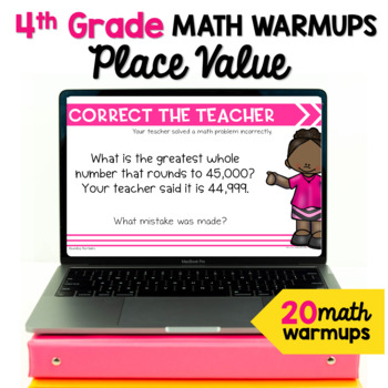 Math Warm Ups For Place Value