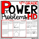 4th Grade Math Word Problems Homework Printables Math Word Problems Measurement