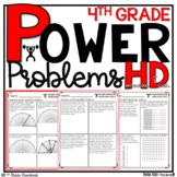 4th Grade Math Word Problems | Test Prep YEARLONG BUNDLE | HOMEWORK