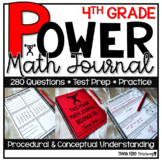 4th Grade Math Word Problems | Test Prep YEARLONG JOURNAL