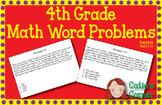 4th Grade Math Word Problems Sets 1-5