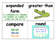 4th Grade Math Word Wall Words