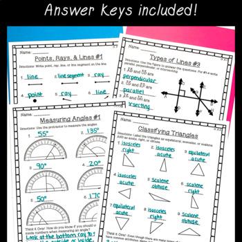 4th grade math worksheet bundle fractions place value. Black Bedroom Furniture Sets. Home Design Ideas