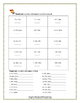 4th Grade Math Worksheets