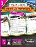4th Grade Math Worksheets – Fourth Grade Math Pack 2 - Mat