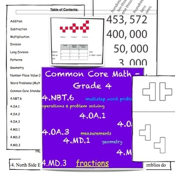 4th grade math worksheets singapore math common core by mrs lena rh teacherspayteachers com