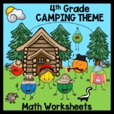4th Grade Math Worksheets: Subtract, Multiply, Divide, Word Problems, Fractions