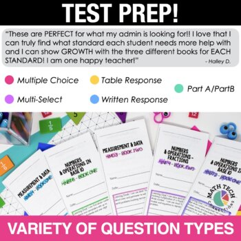 4th Grade Math Written Response Tri-Folds - 4.G.1 - 4.G.3