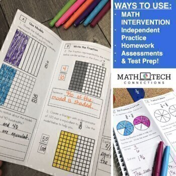 4th Grade Guided Math | 4th Grade Math Review Distance Learning Packet