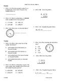 4th Grade Math daily review week 4