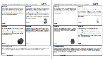 4th Grade May Math Word Problems (All Multi-step!) Great for Daily Math