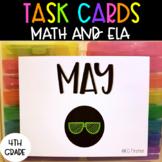 4th Grade May Task Cards