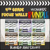 4th Grade McGraw Hill Reading Wonders Focus Wall Units 1-6 BUNDLE