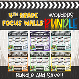 4th Grade Reading Series Focus Walls Units 1-6 BUNDLE