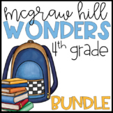 Wonders 2017 4th Grade Units 1-6 Reading Resources BUNDLE
