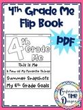 4th Grade Me Flip Book