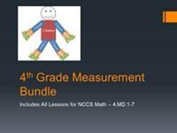 4th Grade Measurement Bundle - 4.MD.1-7