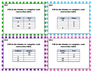 4th Grade  Measurement & Conversion Of Measurements  CCSS: 4.MD.A.1