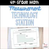4th Grade Digital Measurement Technology Station