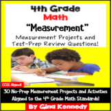 4th Grade Measurement & Conversions, 30 Enrichment Projects & Test-Prep Problems