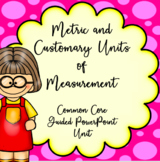 4th Grade Measurement Units and Conversions, Guided PowerPoint Unit, Common Core
