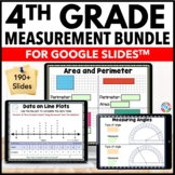 4th Grade Measurement and Data Bundle {4.MD.1 - 4.MD.7} Google Classroom