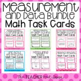 4th Grade Measurement and Data Task Cards Bundle