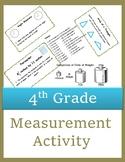 4th Grade Measurement Task Cards
