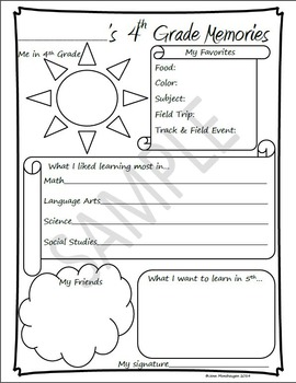 4th Grade Memories