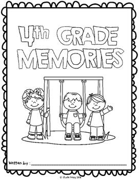 4th Grade Memory Book