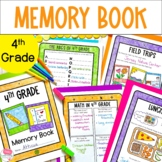 End of the Year Memory Book 4th Grade