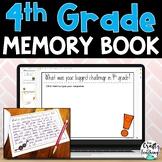 4th Grade Memory Book | Print and Digital