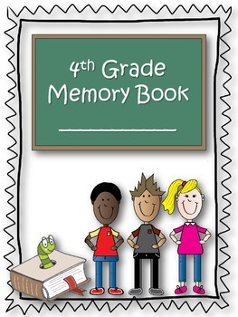 4th Grade Memory Book {End of the Year} {Freebie}