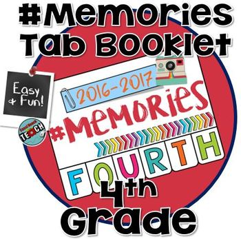 2018 Memory Book 4th Grade - End of the Year Activities
