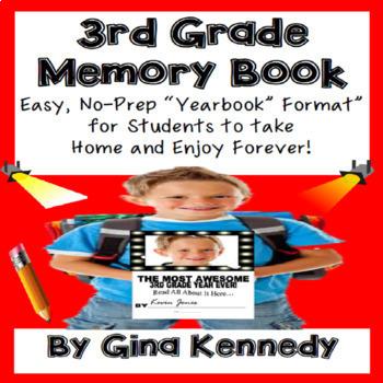 3rd Grade Memory Book (Yearbook)