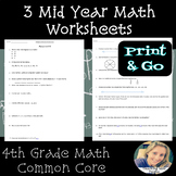 4th Grade Mid Year Math Review