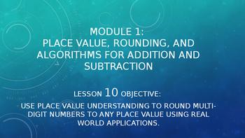 4th Grade Module 1 Lesson 10 PowerPoint