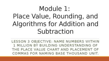 4th Grade Module 1 Lesson 3 PowerPoint