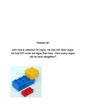 4th Grade Module 1 Tape Diagram Problem Solving Task Cards