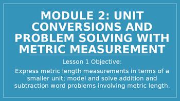 4th Grade Module 2 Lesson 1