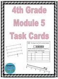 4th Grade Module 5 Task Cards - Fractions - SBAC - Editable
