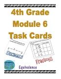 4th Grade Module 6 Task Cards - Decimals - SBAC - EDITABLE