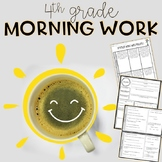 4th Grade Morning Work Bundle