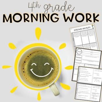 4th Grade Morning Work Bundle