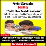 4th Grade Multi-step Math Problem Solving, 30 Enrichment P