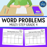 Multi Step Word Problems 4th Grade