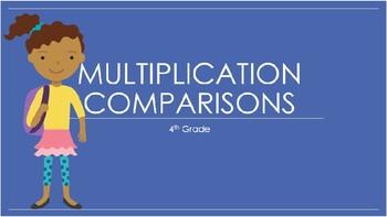 4th Grade Multiplication Comparison: Verbal Statements