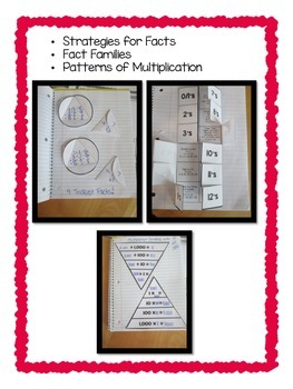 4th Grade Multiplication & Division Common Core Notebook