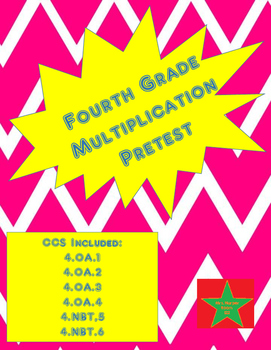 4th Grade Multiplication/Division Pretest