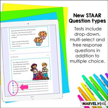 4th Grade Multiplication & Division TEKS Formative Assessments